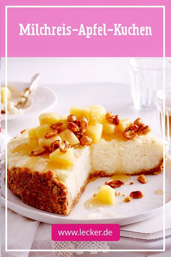 Milchreis Apfel Kuchen Rezept Essen Pinterest