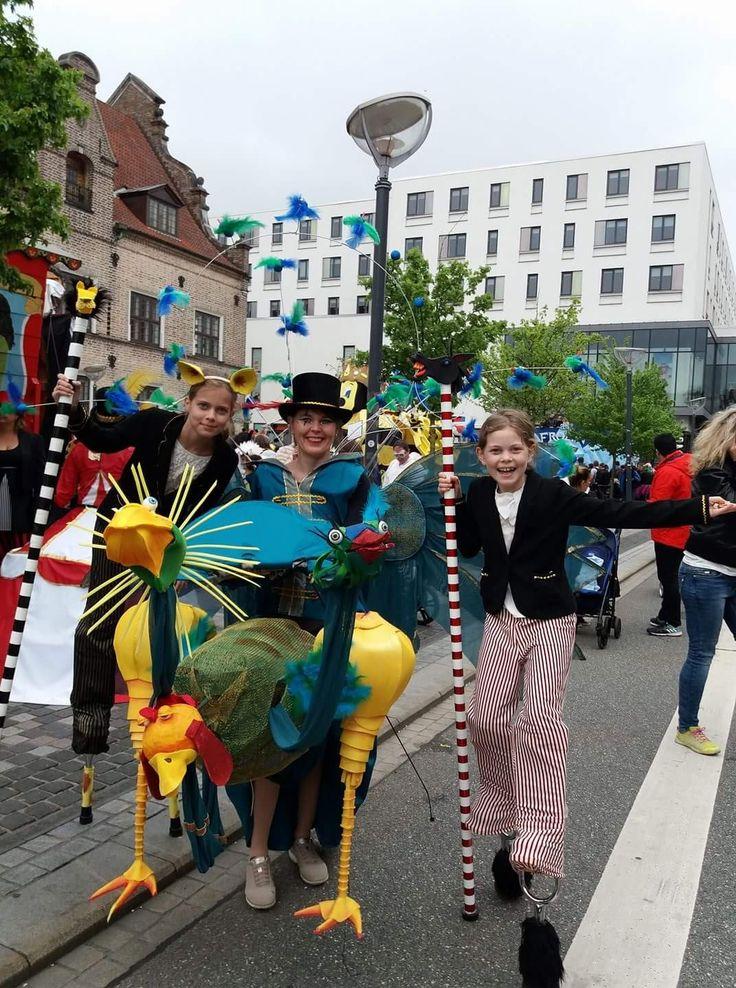 KarnevalsKoloritterne. Freak Circus. Design: Britt Kristensen