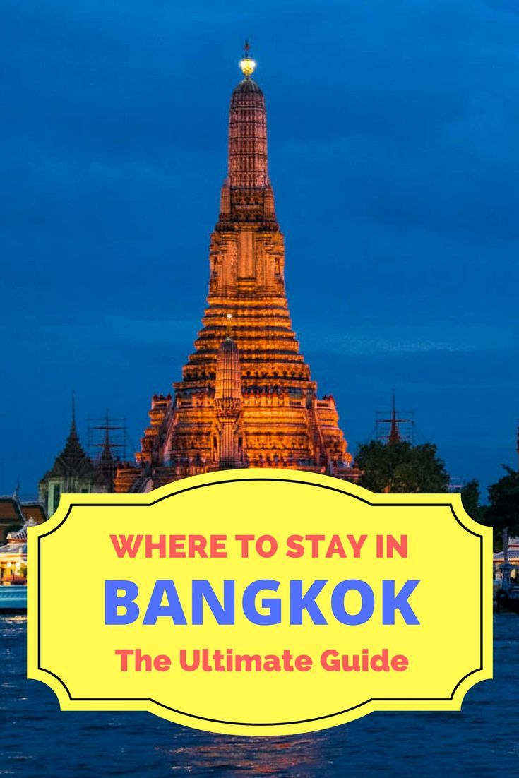 The best hotels in Bangkok, tips on neighbourhoods and things to do there.