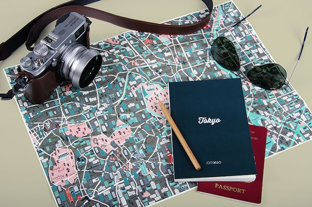 tokyo map design