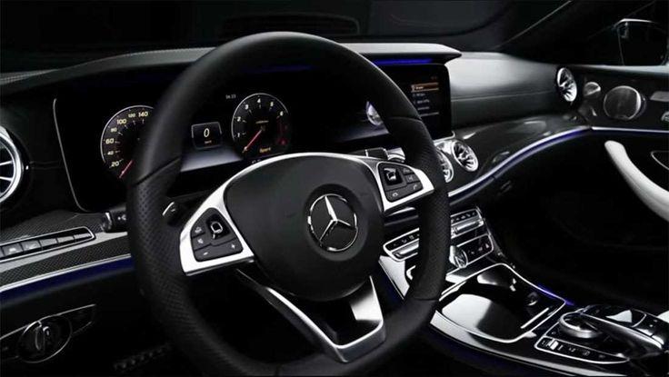 Mercedes-Benz E-Class Coupe 2018-2019 – the new E-Class Coupe