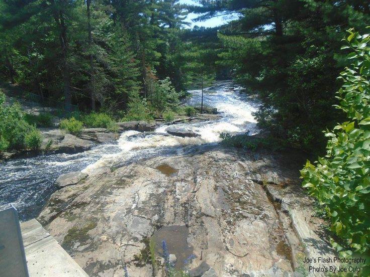 Seguin Rapids at South Seguin Estates Road in Seguin Township