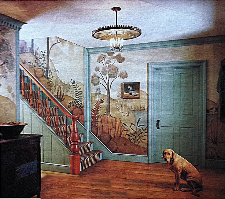 Http://www.chuckfischer.com/blog/wp Content/. Mural WallMural IdeasPainted  Walls18th CenturyAmerican ... Part 80