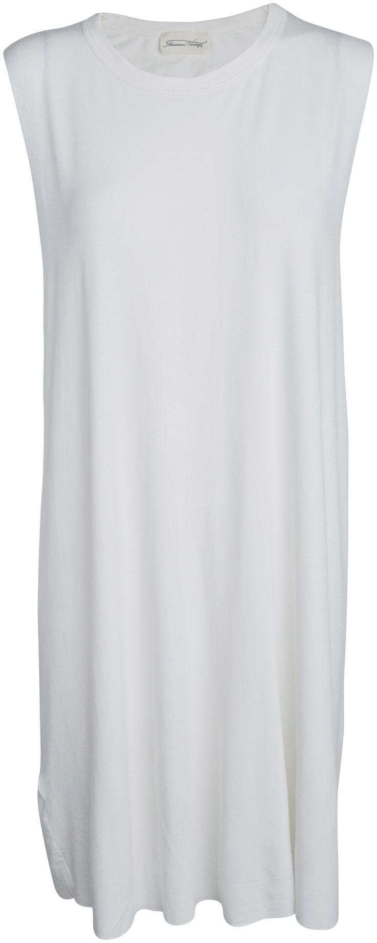 American Vintage - Ærmeløs jersey kjole - YouHeShe