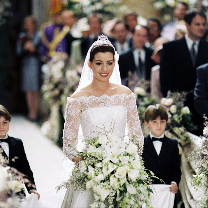 Anne Hathaway Brothers: 22 Of The Best Movie Wedding Dresses Of All Time