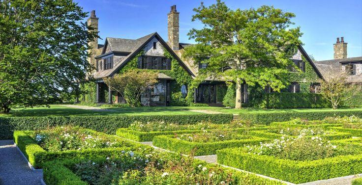 Les styles british et Nouvelle Angleterre se sont imposés dans le paysage des Hamptons. © DR