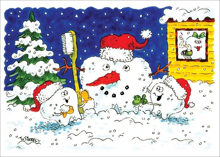 Build a SnowTooth - Dental from CardsDirect