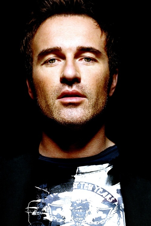 Julian McMahon I do believe he is the reason for my fixation on men with dark hair & blue eyes ;)