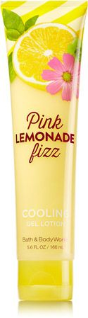 Pink Lemonade Fizz Cooling Gel Lotion - Signature Collection - Bath & Body Works