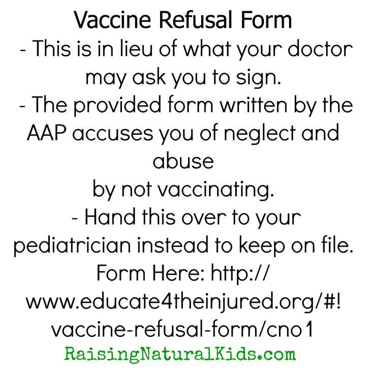 vaccine refusal 1 jama 2016 mar 15315(11):1149-58 doi: 101001/jama20161353 association between vaccine refusal and vaccine-preventable diseases in.
