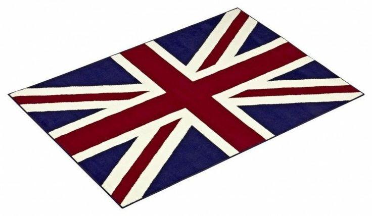 Teppich 80x120 Union Jack England Flagge Großbritannien Vereinigtes Königreich