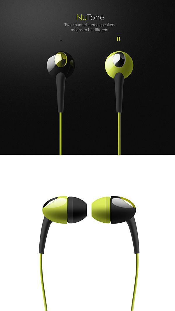 Isolation Earphones on Behance