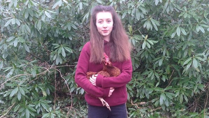 Lucy Gavaghan 14-Year-old Girl Convinces Tesco to Stop Selling Eggs From Caged Hens