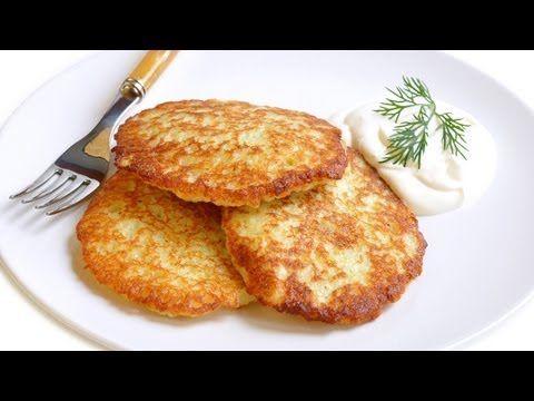 Рецепт: Драники (картофельные оладьи)