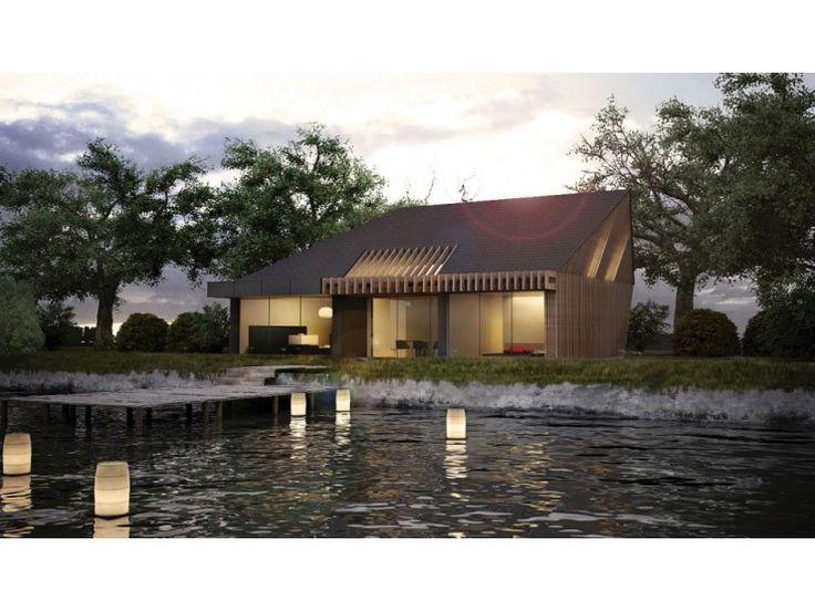 Pure BB - #Einfamilienhaus von BlackLine | HausXXL #Energiesparhaus #Nullenergiehaus