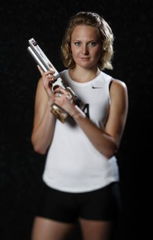 Margaux Isaksen Event: Modern pentathlon Hometown: Fayetteville, Ark. Current Residence: Colorado Springs, Colo. Olympic experience: 2008 Preferred Disciplines: running and swimming.  DMN photographer Vernon Bryant photographed athletes at the Olympic Team Media Summit in Dallas.