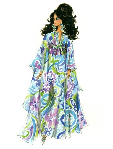 "Barbie Robert Best Print ""Palm Beach Breeze"""