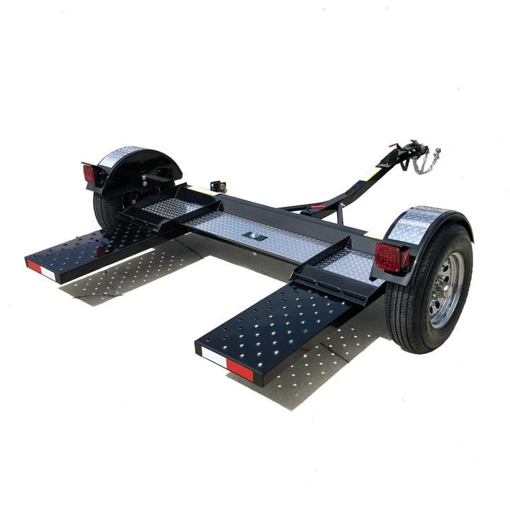Black Chrome Tow Dolly Towing Car Buying Car