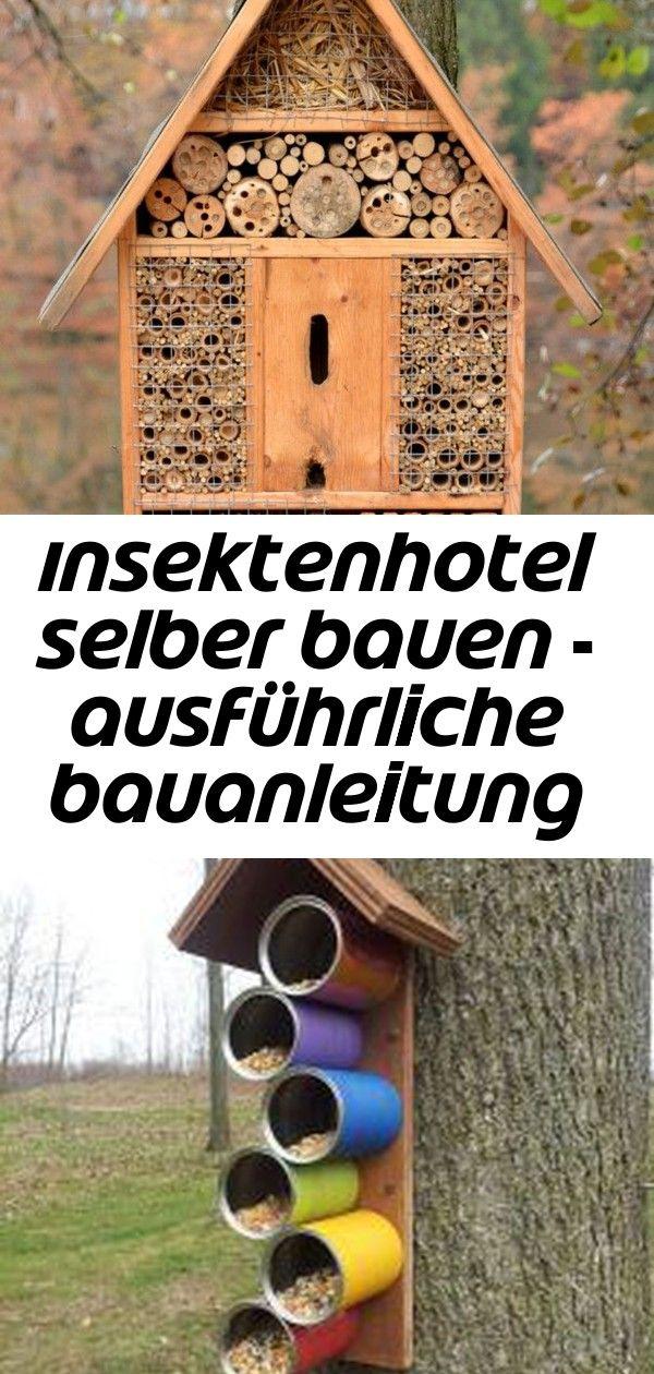 Insektenhotel Selber Bauen Ausfuhrliche Bauanleitung Fur