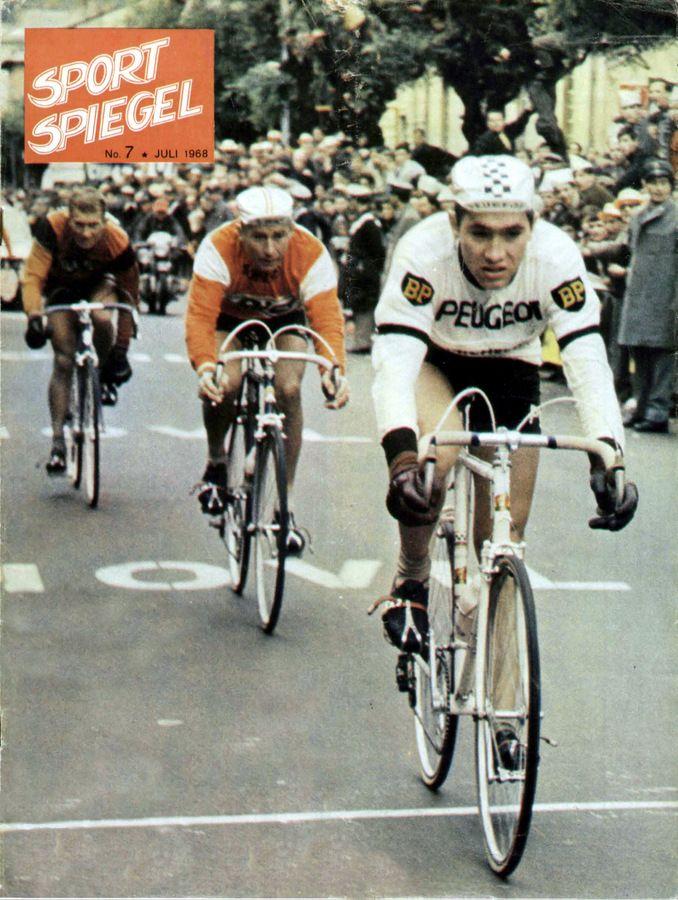 Giro 1967 eddy merckx jacques anquetil et gianni motta for Miroir du ciclisme