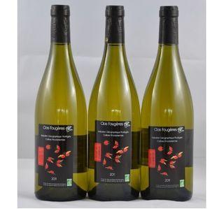 IGP Collines Rhodaniennes - Vin Blanc BIO - Clos Fougères - 2011 - carton 3 bouteilles de 75 cl