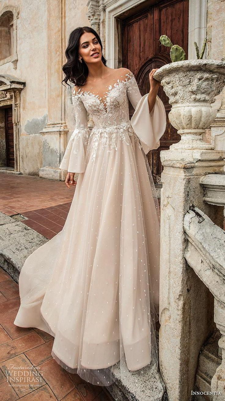 Bridesmaid Dresses Vintage Wedding Dress Romantic Vintage Wedding Dress Romantic Vintage In 2020 Bridal Dresses Wedding Dress Trends Wedding Dresses Romantic
