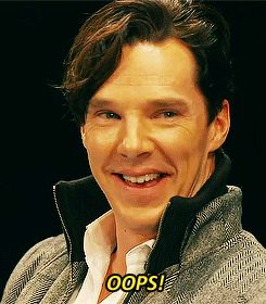Oh crumpets, I've been Cumberbatched.