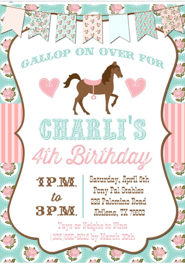 Best 25+ Cowgirl birthday invitations ideas on Pinterest | Horse ...