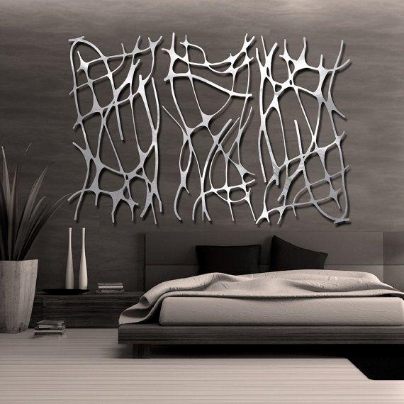 Art Nouveau Web TRIO in Brushed Aluminum FREE by ModaIndustria
