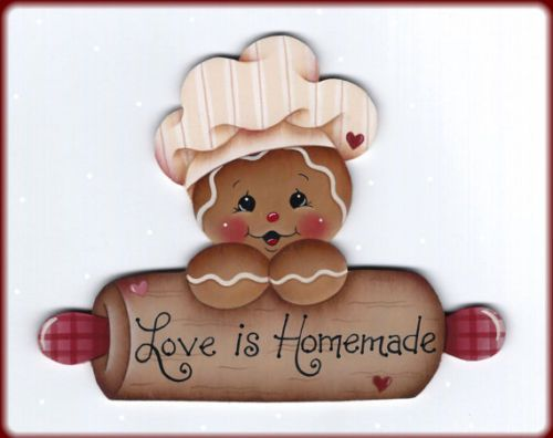 6-Love-is-Homemade-Gingerbread-wood-ornaments-to-paint-Pamela-House-design