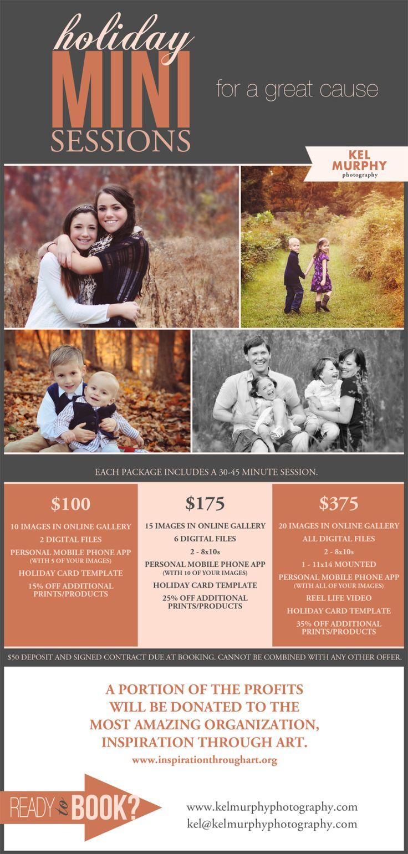 Holiday mini sessions + charitable donation || Kel Murphy Photography