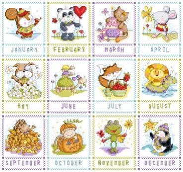 Календарь 2015 Durene Джонс