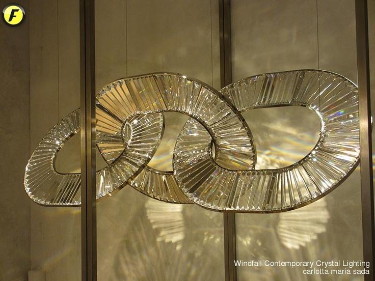 Windfall - Contemporary Crystal Lighting
