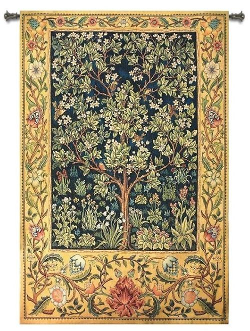 Kaleen Rugs Tree Of Life Celtic Abstract Art Tapestry Wall Hanging