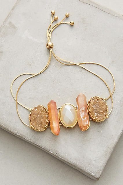 Stonesthrow Bracelet - anthropologie.com - affordable womens jewelry, discount womens jewelry, cheap womens costume jewelry