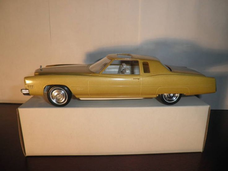 79 best Cadillac Eldorado Promotional Model Cars images on