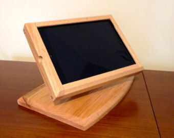Contemporary Oak iPad Air Flip Stand and matching Cash