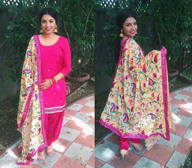 Punjabi salwar suit  Punjabi Suits — for enquiry kindly send msg or call…