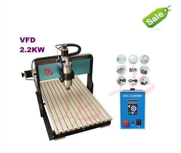 1795.50$  Buy now - http://aliiuc.worldwells.pw/go.php?t=32572484153 - metal cnc engravers CNC router 6040 Z-S 2.2KW,water cooled,with limit switch,hobby cnc milling machine