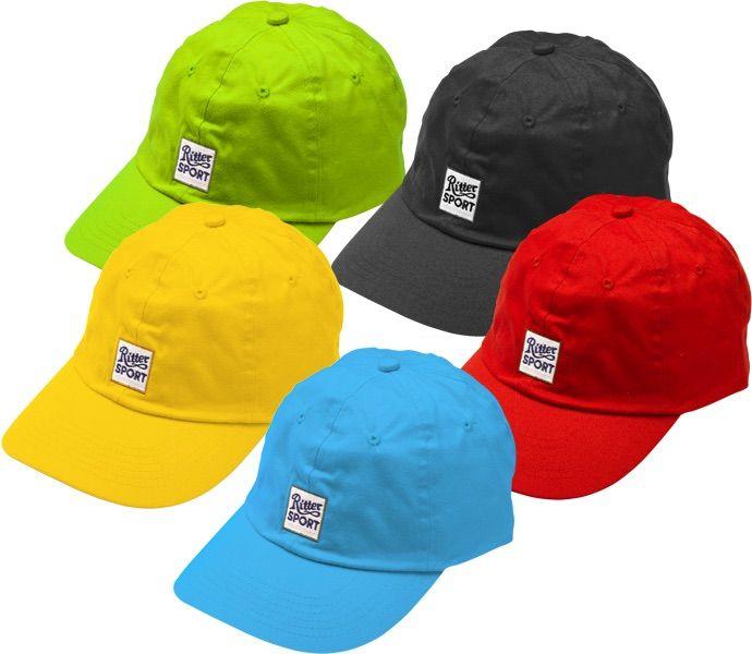 Für alle, die nicht nur RITTER SPORT im Kopf, sondern auch auf dem Kopf haben wollen, ist unsere Baseball Cap die perfekte Option.
