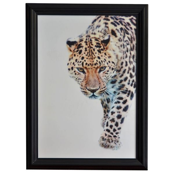 Leopard Walking Wall Art http://strutliving.com.au/wall-art/545-leopard-walking-wall-art.html