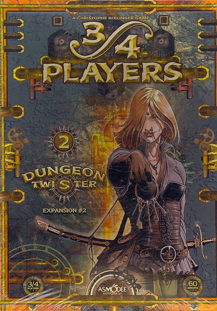 Dungeon Twister: Expansion #2 : 3/4 Players