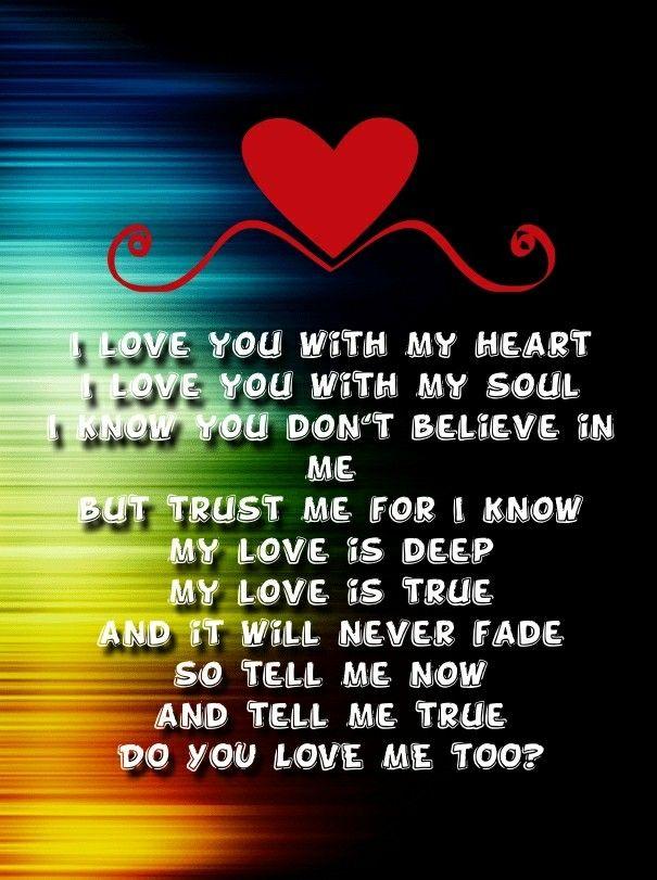 heartfelt poems for him