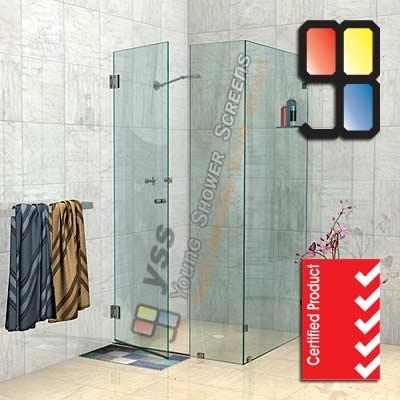 Buy NS Corner Shower Screens Online - Comfort Innovations Online  $500