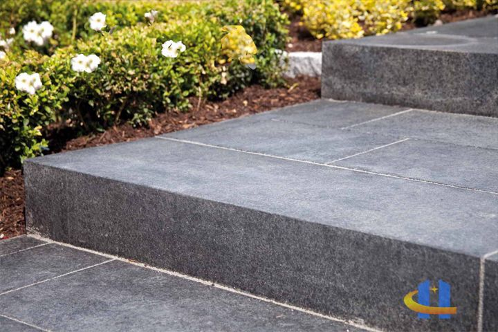 best 25 granit blockstufen ideas on pinterest terrassenfliesen terrassenfliesen and. Black Bedroom Furniture Sets. Home Design Ideas