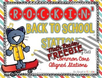 This little math reader freebie is part of my new Rockin' Back-To-School Stations {Featuring a Very Groovy Cat} Pete makes number writing practice fun as your kiddos get to count and color his rockin' shoes! I hope you enjoy this little booklet. If you download, I would really appreciate it if you left a little feedback love! ***************************************************************************** Want to know about FREEBIES, new products and sales in my store?