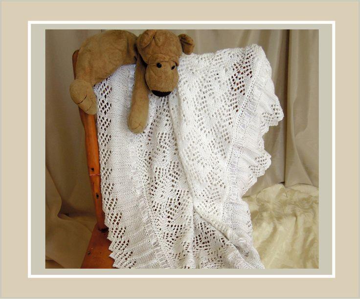 Heirloom lace blanket