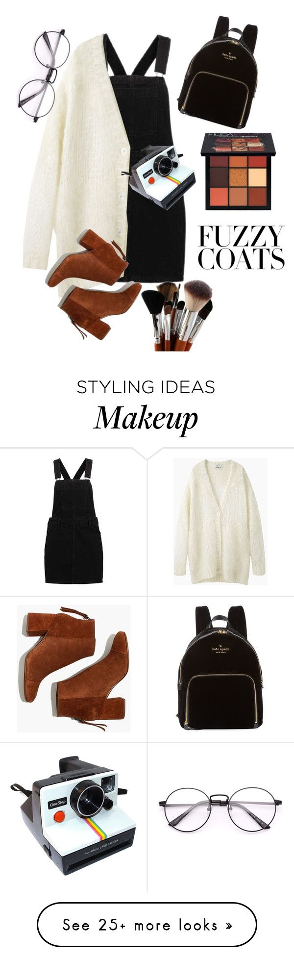 """""""Untitled #21"""" by juliannamclary on Polyvore featuring Acne Studios, Madewell, Kate Spade, Polaroid and Huda Beauty"""