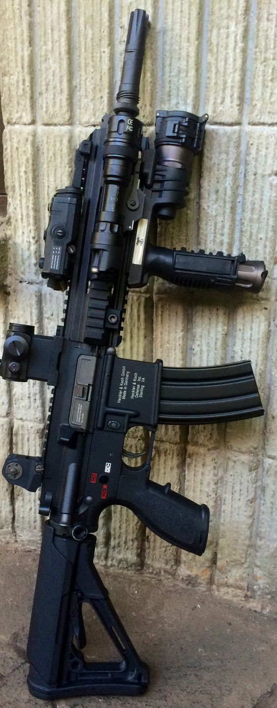 Nice set up, if you're not going far. Too much weight on this rifle to be used on longer missions. Nice SBR  ;)