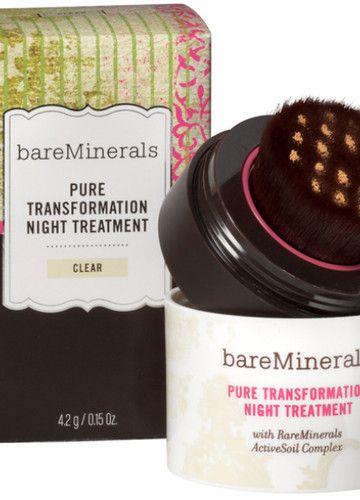 """Puder """"Pure Transfortmation Night Treatment"""" von bareMinerals, um 56 Euro"""